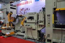 3-In-1Servo Straightener Feeder Cum Uncoiler Machine,Model:GLK3