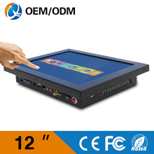 latest computer models 12 '' wall mount touch screen all in one industrial computer