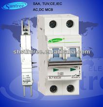 TUV 50A L7 MCB Circuit Breaker AC 415V DC 1200V