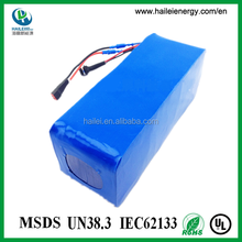 factory price lifepo4 electric bike battery 36v 15ah