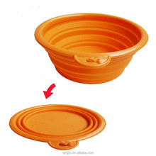 Pet Dog Cat Portable Collapsible Foldable Camping Travel Bowl Water Food Feeder
