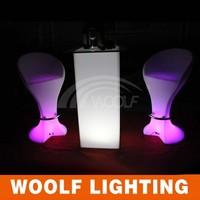 led bar make up table with lights