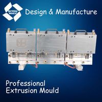 plastic cable cover extrusion mould