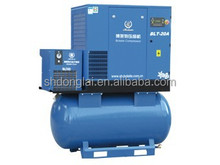 compact portable air compressor with high efficiency