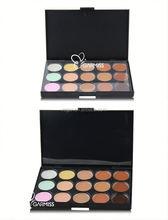 18 color your name brand makeup concealer Hot Selling Professional 15 Color Concealer Palette