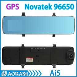 64G FHD 1080P Car Dvr GPS Novatek 96650 Super Night Vision 170 Degree H.264 Car Rear View Camera for Car