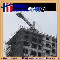 6t construction self-raised fixed Tower Crane QTZ63