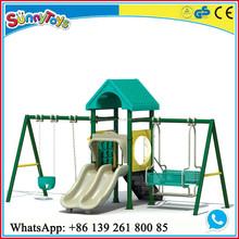 plastic slide swing,children slide swings, outdoor slide swing