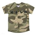 100% de poliéster sublimada camiseta de béisbol personalizadas