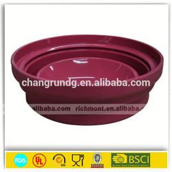 2015 Hot item silicone steamer for kitchen silicone bowl