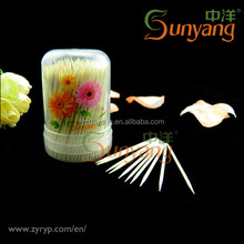 Food Grade Interdental Toothpick Bamboo Manufacture