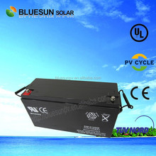 2015 year best popular dry charged lead acid battery for 12v 150ah