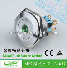 factory Export CMP brand 30mm emergency switch / push button lockout MP030SF22-D