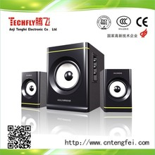 speaker for DVD/TV/Home theater system of 2.1 subwoofer ,computer speaker with web cloth