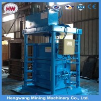 small hand wrapping machine/waste paper manual baler/Trash compacter