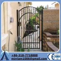 Baochuan gate lattice panels / ornamental steel gate(manufacturer)