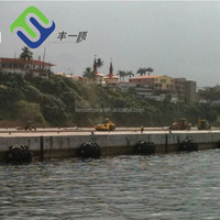 inflatable marine tyre chain net pneumatic dock fenders