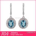 proveedor de china de la última joyería de plata barata pendientes lindo para las niñas