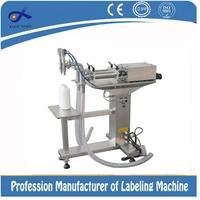 Edible oil/anti-freezing solution/lubricating oil semi auto filling machine