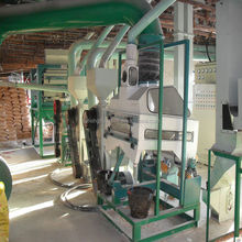 home corn grits flour mill processing machine/maize mill machinery
