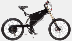 Super power 72V 2000W electric mountain bike with lithium ion battery