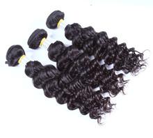 top quality brazilian wholesale hair beauty supply extensions natural deep wave virgin human hair weaving hair sew
