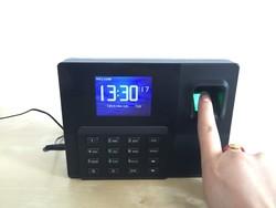 Desktop stytle USB Bio Fingerprint Time clocks Fedex 12 month warranty certificate template