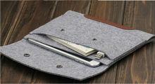 Wool Felt Inner Bag For iPad 2/3/4 Notebook Laptop Bags Cases for Ipad Ultrabook Laptop Sleeve