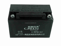 Green brand 12v 6.5ah/10hr mf motorcycle battery