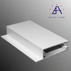 Brilho hot venda perfil de alumínio para a folha de policarbonato