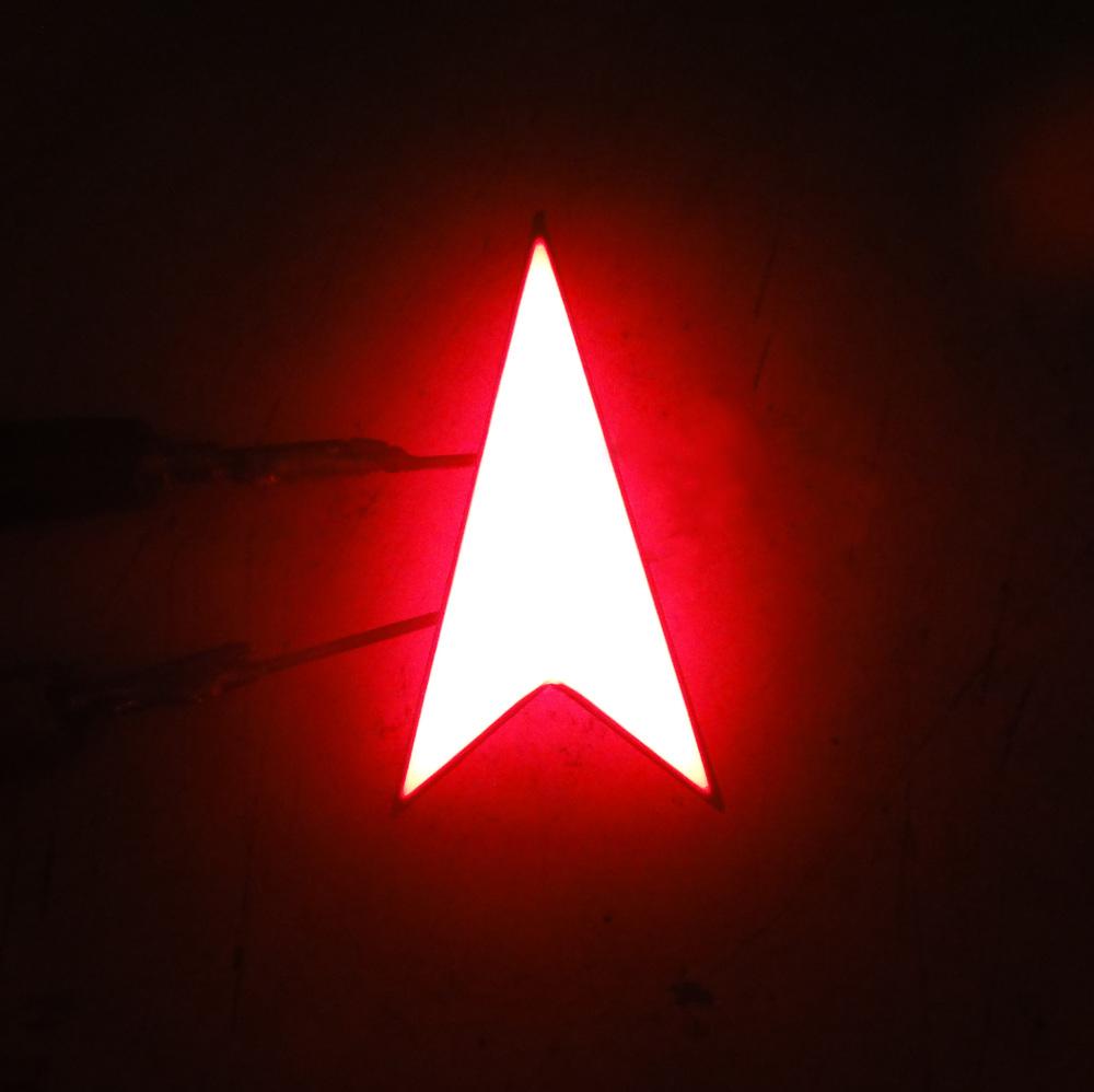 LED arrow traffic light indicator signal red single led arrow led display