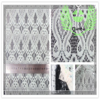 Nylon lace fabric for women dress made in china