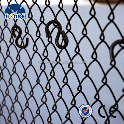 Wholesale easily assembled pvc coated used chain link fence