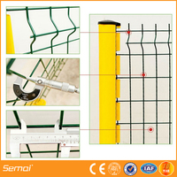 HOT Product High Quality 3x3 galvanized Welded wire mesh Fence / 3d panels/ Security Fencing With CE Certificat