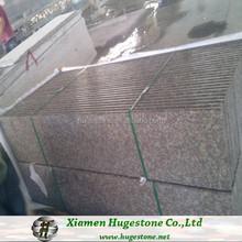 G687 granite slab full bullnose round edge finished