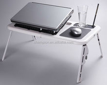 plastic portable lap top stand