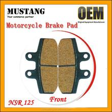 Sintered Brake Pad for ATV CG125 CB125 NSR125 Motorcycle Scooter Pitbike Motorbike UTV Sintering Brake Pads Semi-metel Brake