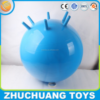 new design custom bouncy jumping balls with handle