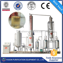 Without any air pollution and water cooling system used lubrication oil refinery