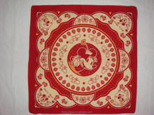 Wholesale paisley pattern cheap cotton custom magic scarf