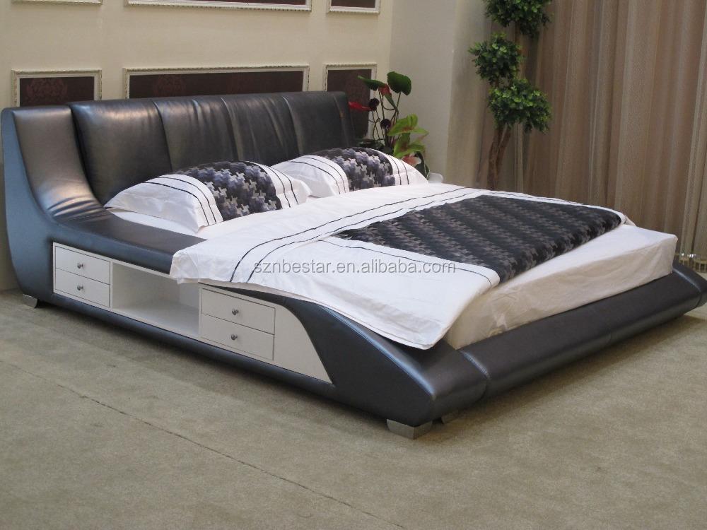 Lastest divan bed design leather bed for Divan design