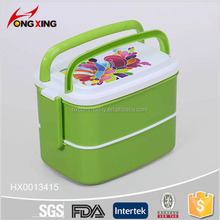 Hongxing Portable Plastic Lunch Boxes with Handle
