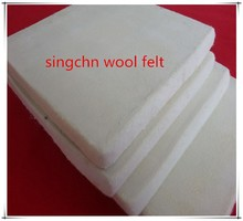High quality of100% merino wool industry pressed wool felt
