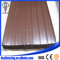 Construction material steel coated roofing sheet metal building roof