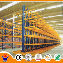 heavy duty warehouse steel cantilever rack , storage cantilever rack for long objects