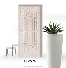 Eco-friendly internal MDF puerta madera wood material office door
