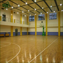 Antiskid PVC Indoor Basketball Flooring