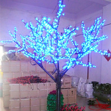 Brightness outdoor commercial led decorative artificial leaves