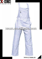 Multi-Pockets Painters White Coverall Workwear