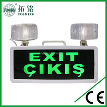 multi-function emergency led exit sign evacuation lights
